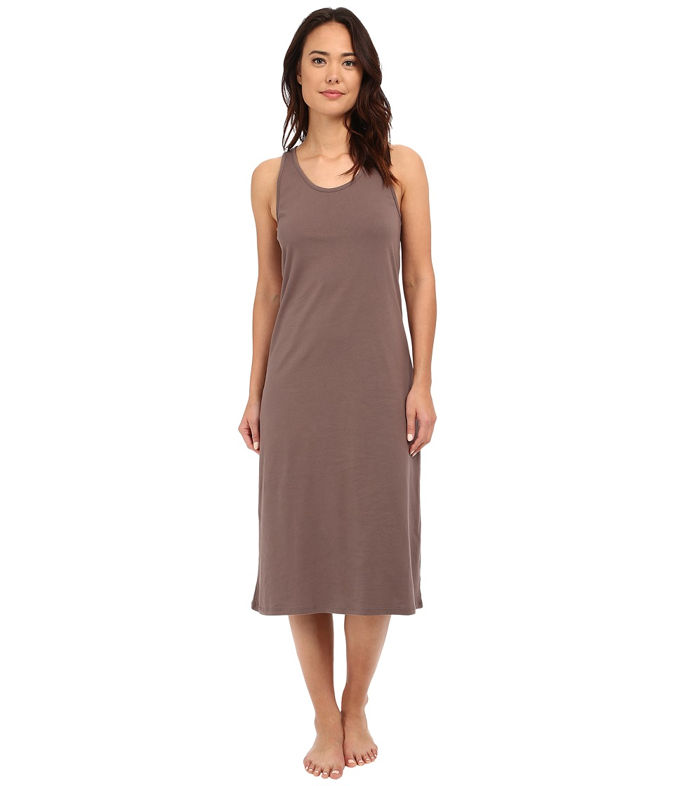 Jockey - 47 Cotton Racerback Gown (Truffle) Womens Pajama