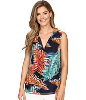 Vince Camuto - Sleeveless Tropical Mystique Keyhole Blouse