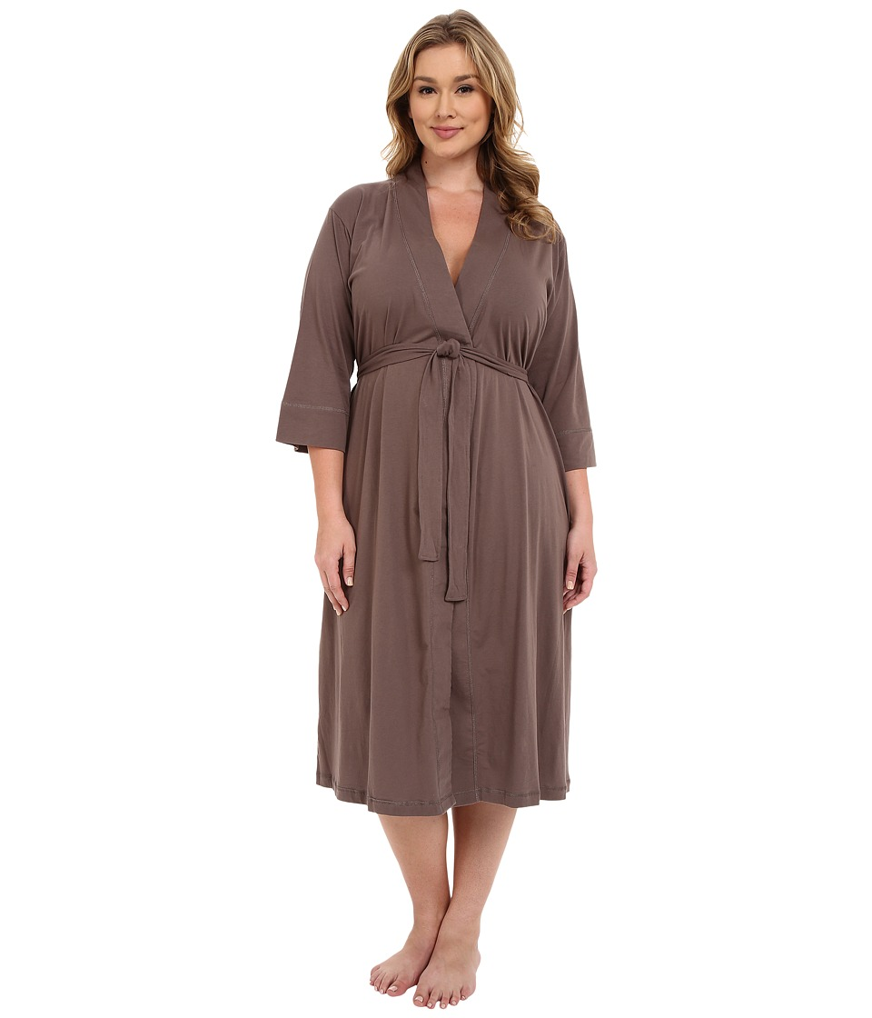 Jockey Plus Size 48 Cotton Robe Truffle Womens Robe