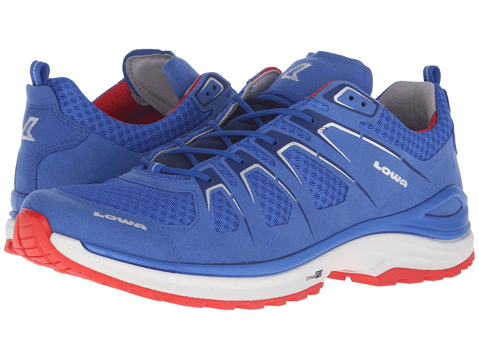 Lowa Innox EVO Blue/Red Mens Shoes