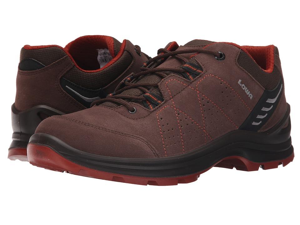 Lowa Tiago Lo Espresson/Rust Mens Shoes