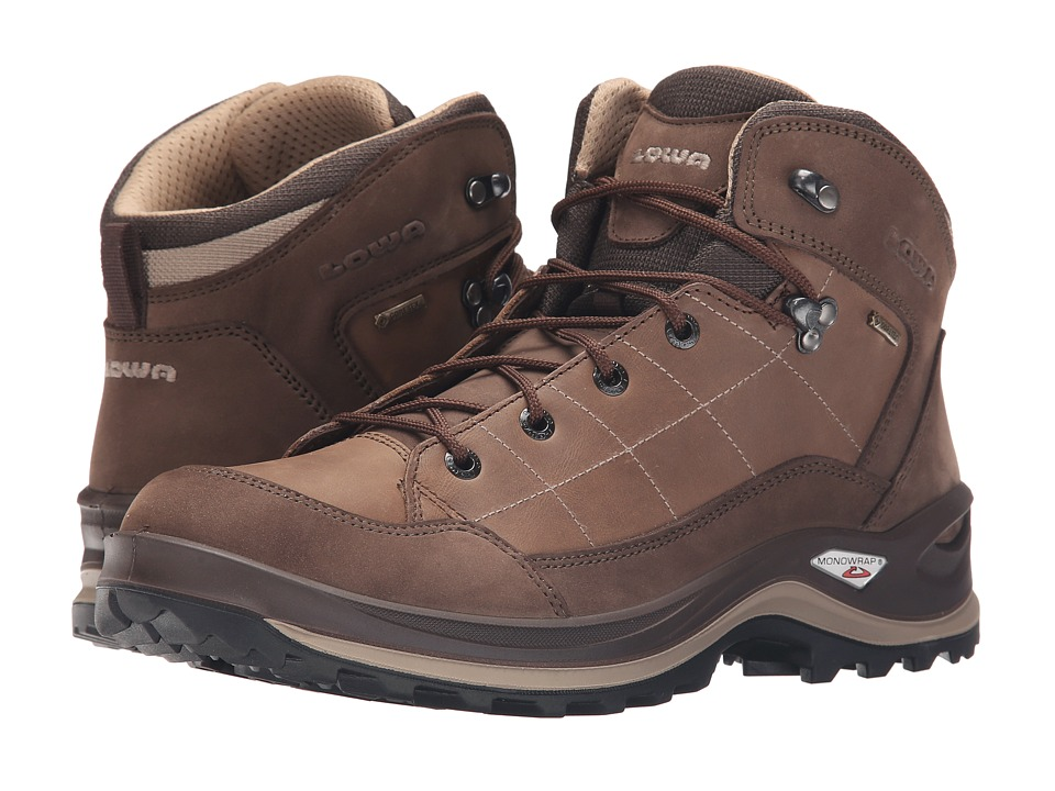 Lowa Bormio GTX QC Brown/Sand Mens Shoes