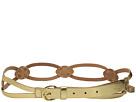LAUREN Ralph Lauren Classics 1 Skinny Braid Belt w/ C-Buckle