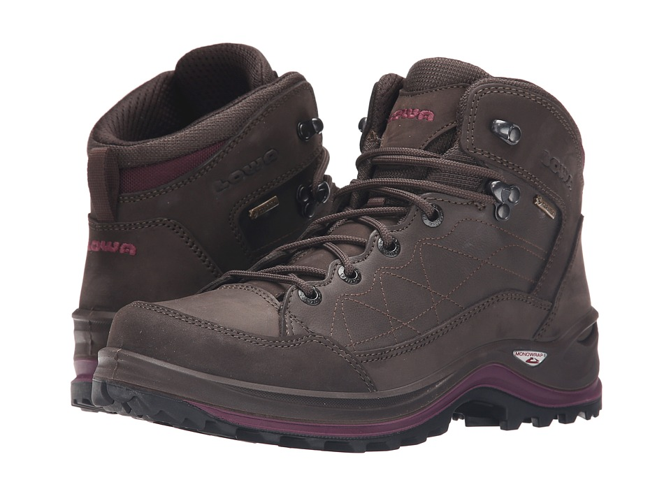 Lowa Bormio GTX QC Slate/Violet Womens Shoes