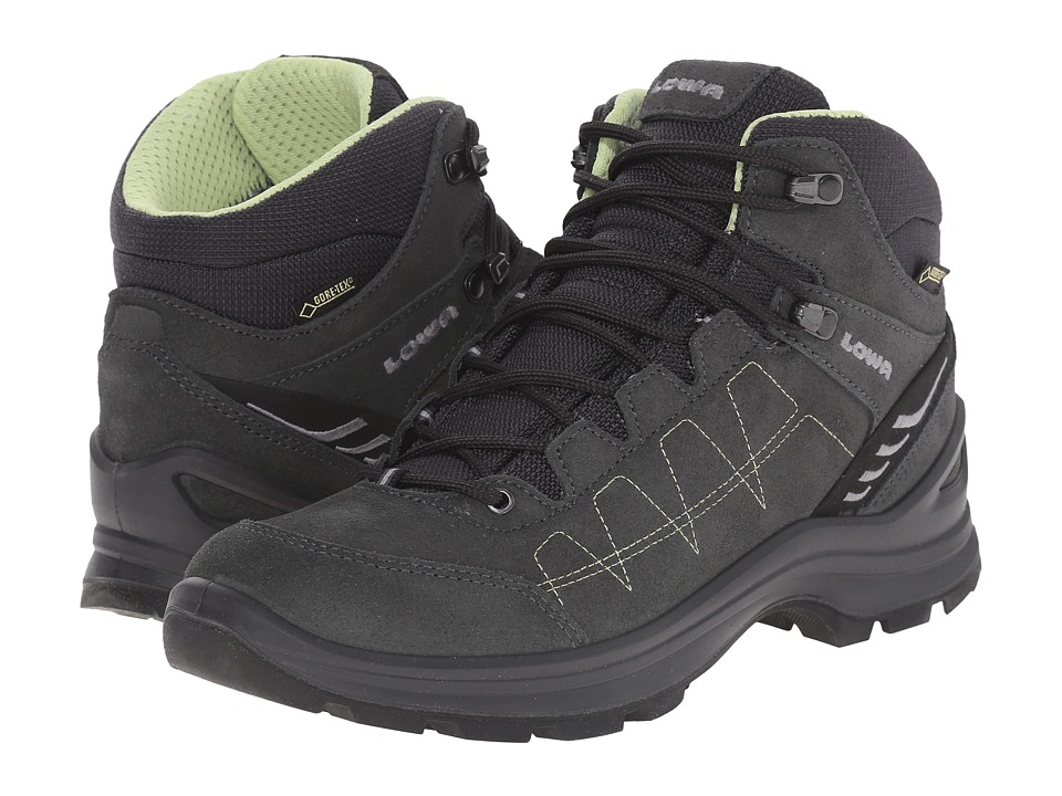 Lowa Tiago GTX QC Anthracite/Mint Womens Shoes