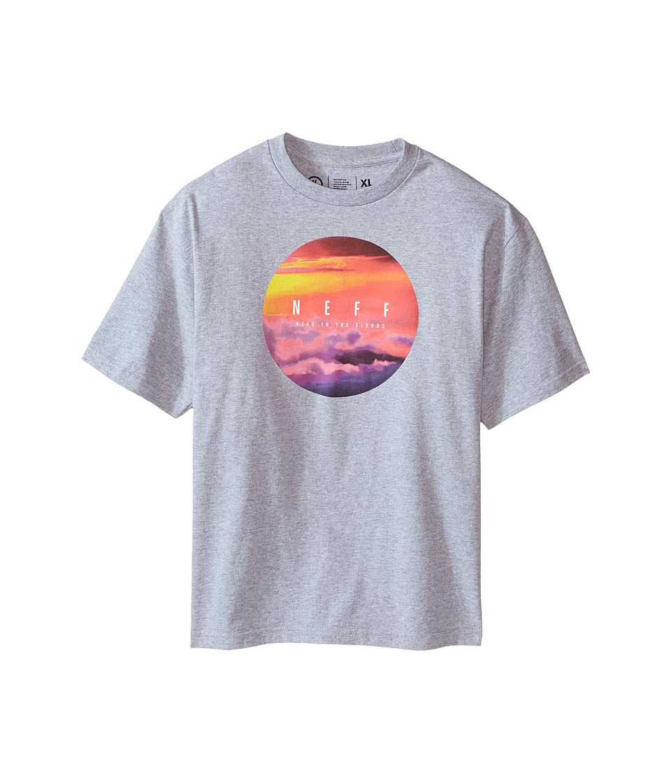 Neff Kids - Head in The Clouds Tee (Big Kids) (Athletic Heather) Boy