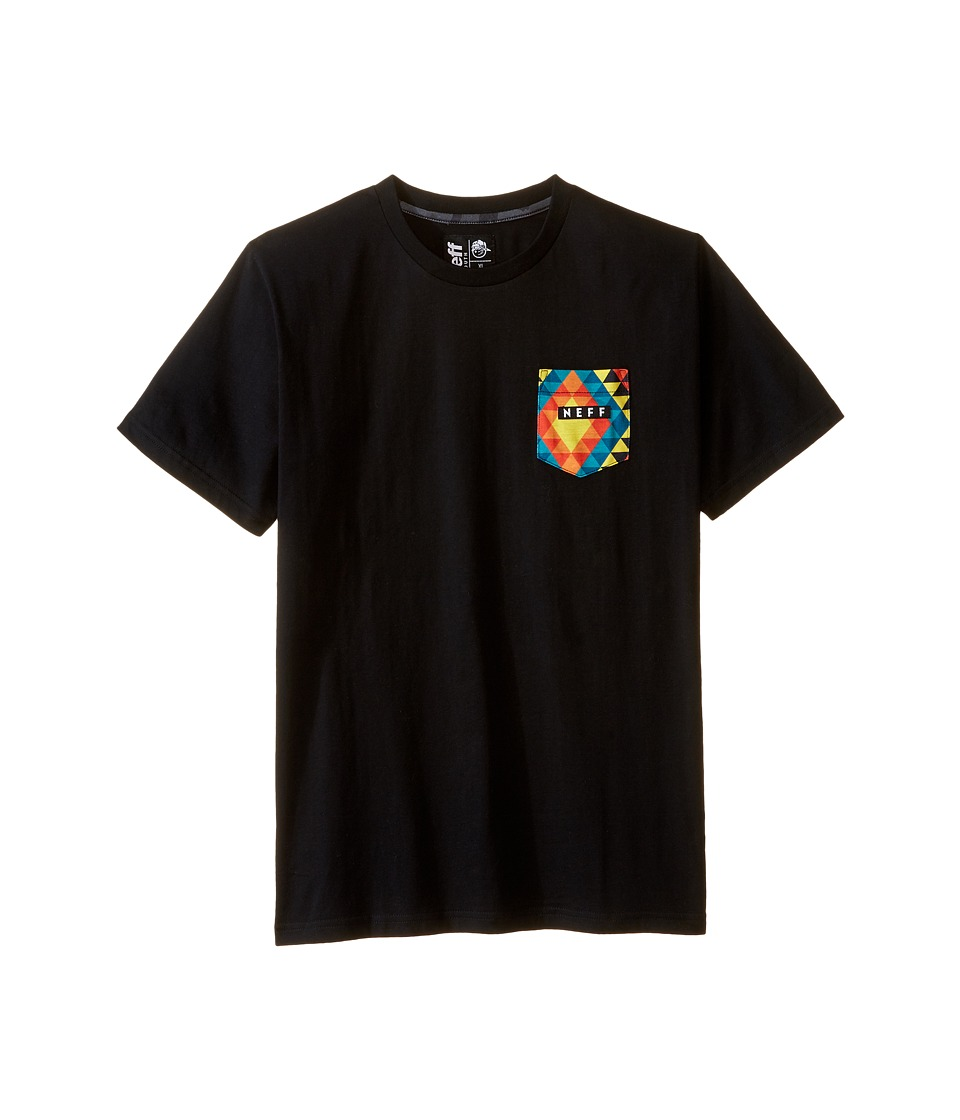 Neff Kids - Kato Tee (Big Kids) (Black) Boy