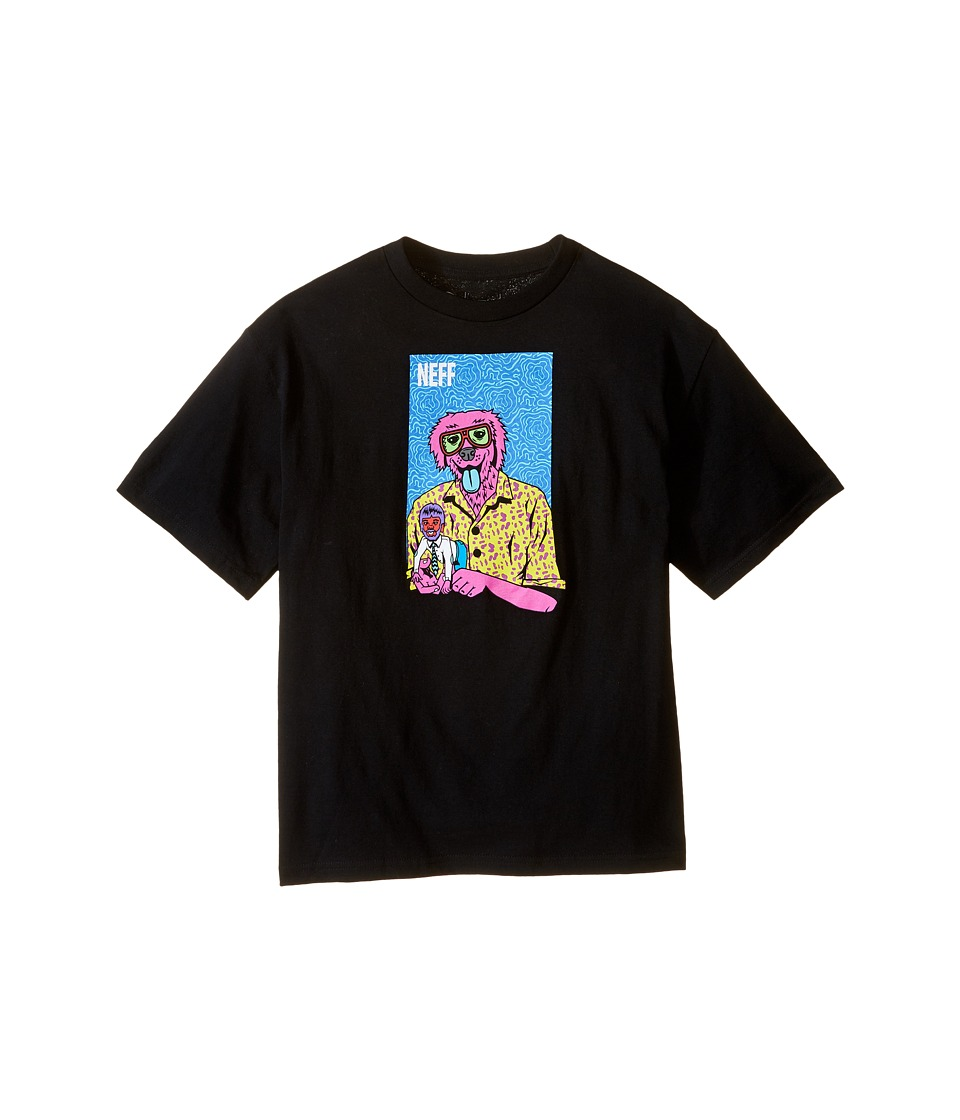 Neff Kids - The Weird Tee (Big Kids) (Black) Boy