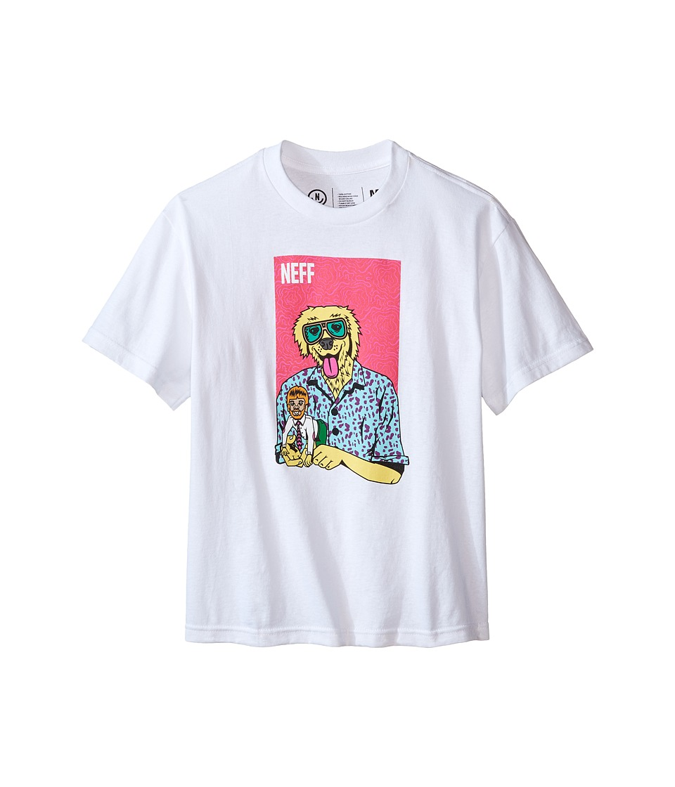 Neff Kids - The Weird Tee (Big Kids) (White) Boy