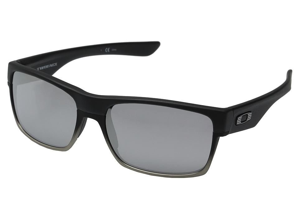 Oakley Two Face (Machinist Matte Black/Chrome Iridium) Sp...