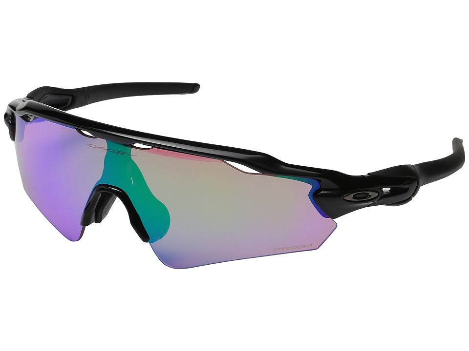 Oakley Radar EV Asian (Polished Black/Prizm Golf) Sport Sunglasses