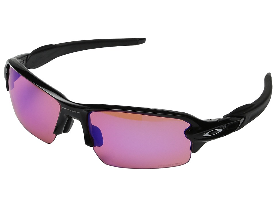 Oakley A Flak 2.0 Polished Black/Prizm Trail Sport Sunglasses