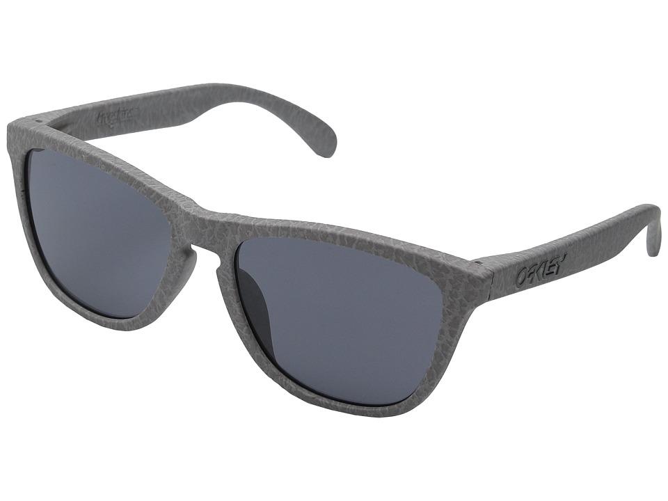 Oakley A Frogskins Smoke/Grey Plastic Frame Fashion Sunglasses