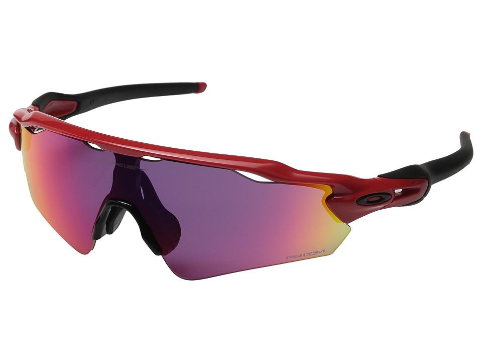 Oakley Radar EV Asian (Redline/Prizm Road) Sport Sunglasses