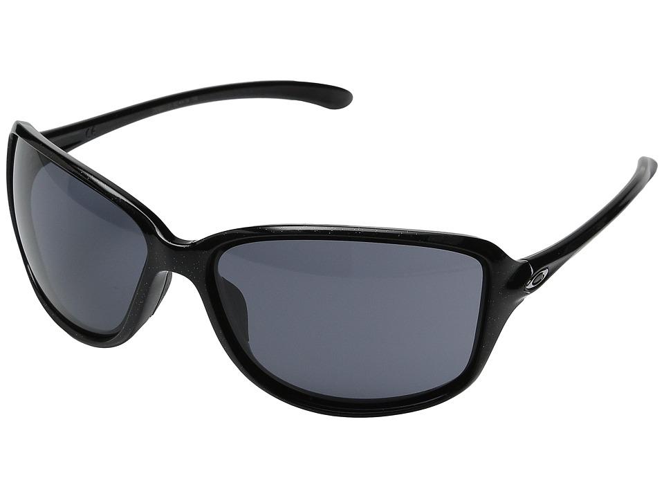 Oakley Cohort Metallic Black/Grey Plastic Frame Fashion Sunglasses