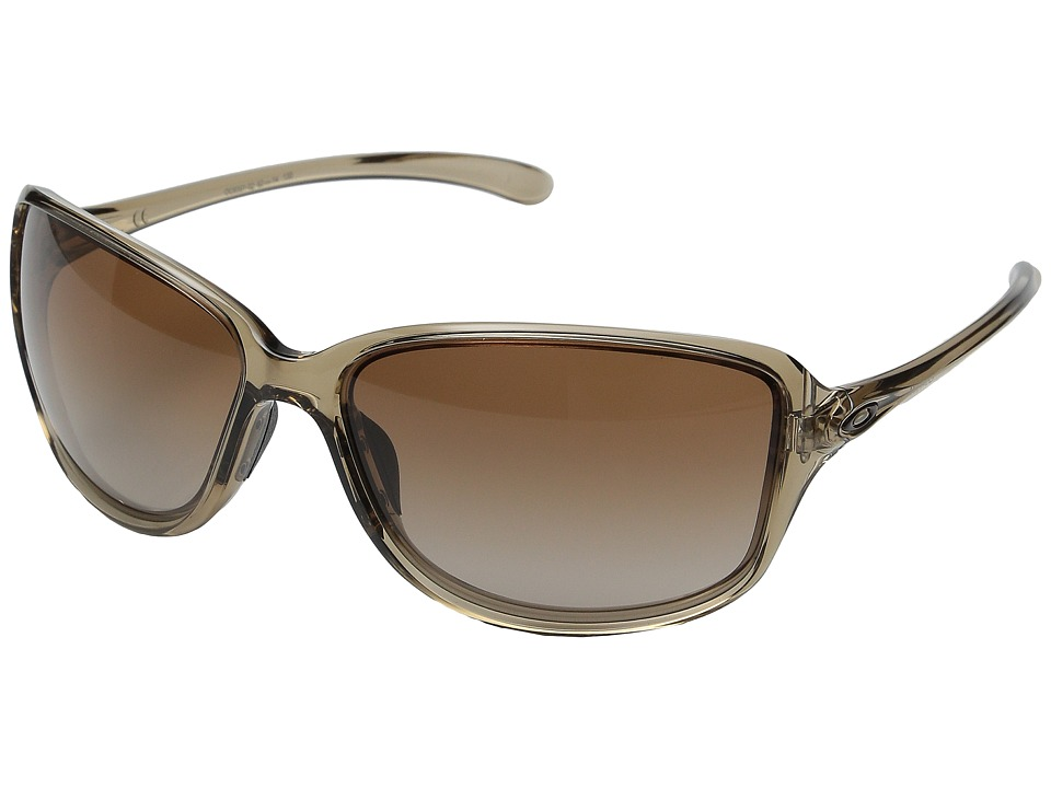 Oakley Cohort Sepia/Dark Brown Gradient Plastic Frame Fashion Sunglasses