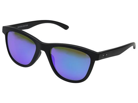 Oakley Moonlighter - Matte Black/Violet Iridium Polarized