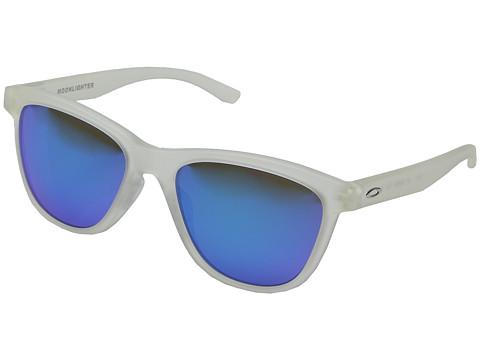 Oakley Moonlighter - Matte Clear/Sapphire Iridium