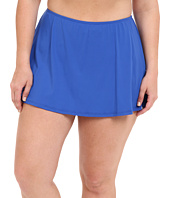 MICHAEL Michael Kors - Logo Solids Skirted Bottom Plus