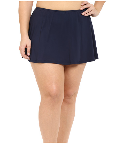 MICHAEL Michael Kors Logo Solids Skirted Bottom Plus