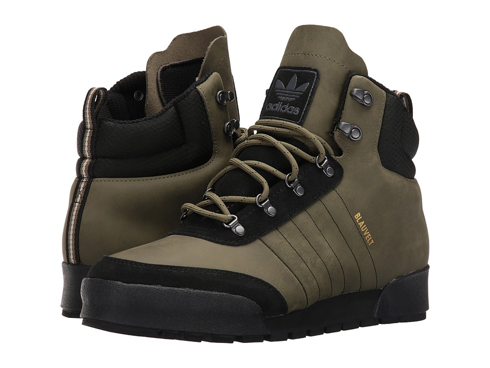 adidas Skateboarding Jake Boot 2.0 (Olive Cargo/Core Black/Clear Brown) Men