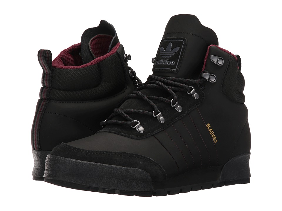 adidas Skateboarding Jake Boot 2.0 (Core Black/Maroon/Dark Grey Heather Solid Grey) Men