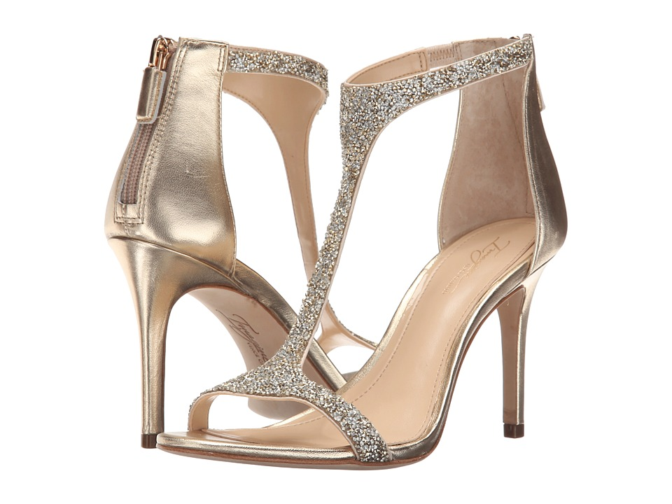 Imagine Vince Camuto Phoebe Crystal/Soft Gold Womens Shoes