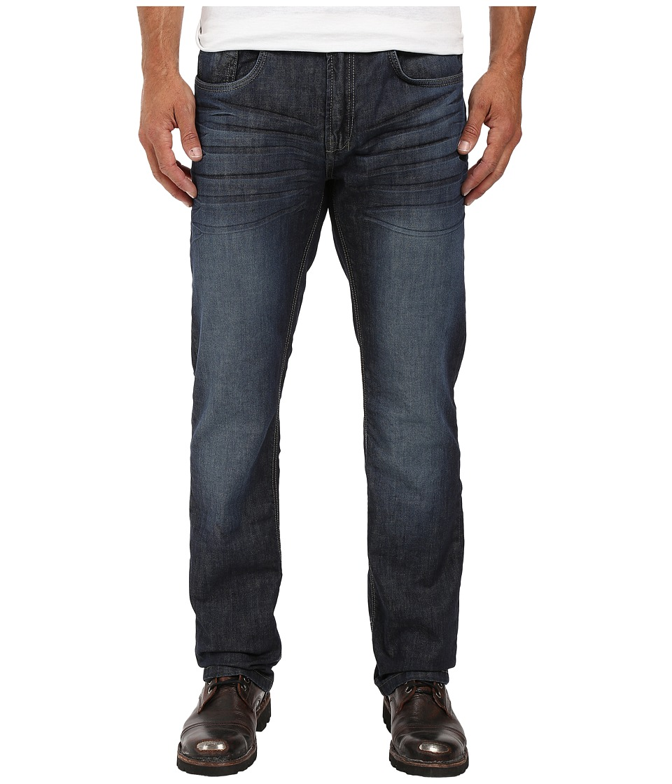 Buffalo David Bitton - Six Straight Leg Jeans in Rigid and Slightly Sanded