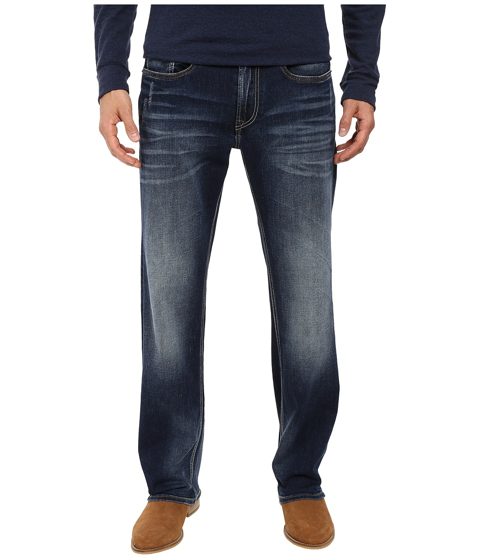 Buffalo David Bitton - Driven Relaxed Straight Leg Jeans in Contrast Vintage