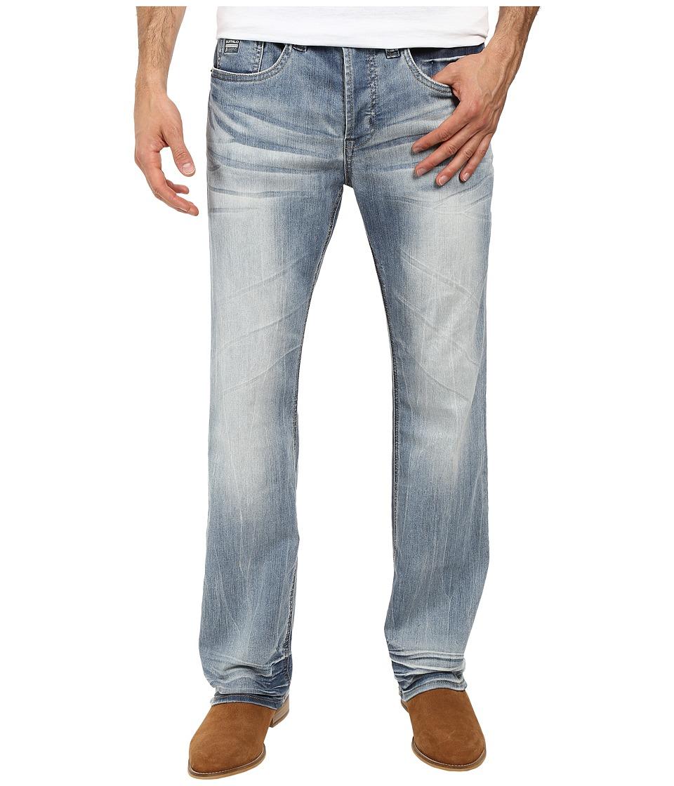 Buffalo David Bitton - King Slim Boot Cut Jeans in Heavy Sandblasted