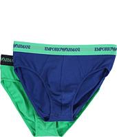 Emporio Armani - 2-Pack Stretch Cotton Brief