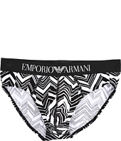 Emporio Armani - Irregular Chevron Brief
