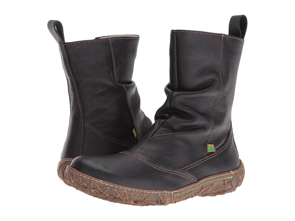 El Naturalista - Nido N722 (Black) Womens Shoes