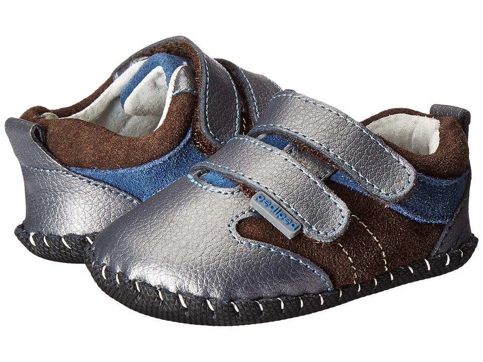 pediped Grayson Originals (Infant) (Charcoal) Boy's Shoes
