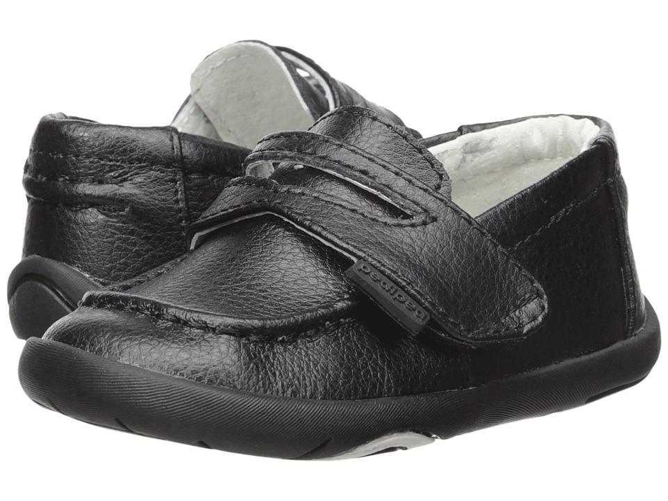 pediped Charlie Grip n Go (Toddler) (Black) Boy's Shoes