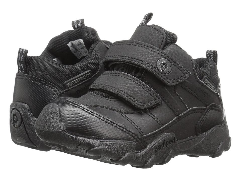 pediped Max Flex (Toddler/Little Kid/Big Kid) (Black) Boy's Shoes