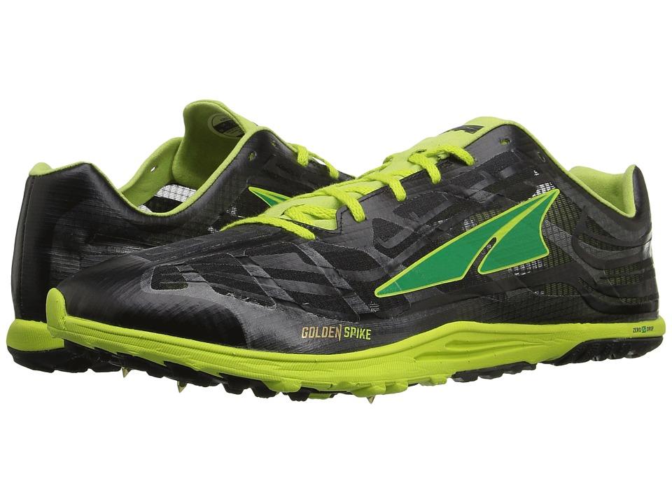 Image of Altra Footwear - Golden Spike (Lime/Black) Athletic Shoes