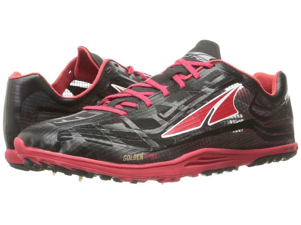 Altra Footwear - Golden Spike (Black/Red) Athletic Shoes