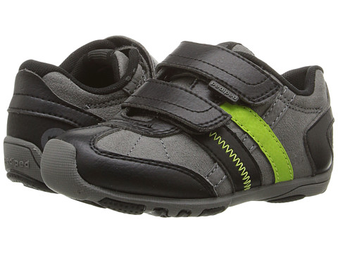 pediped Gehrig Flex (Toddler/Little Kid) - Black Lime