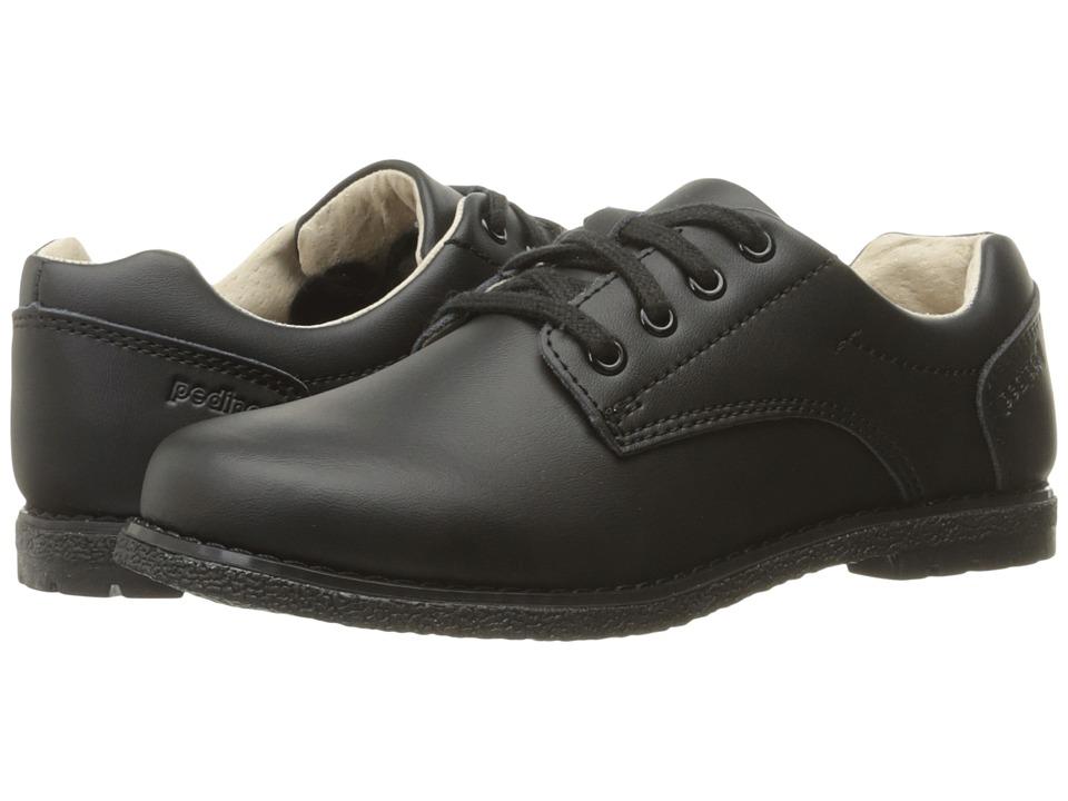 pediped Storm Flex (Little Kid/Big Kid) (Black Lace-Up) Boy's Shoes