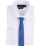 LAUREN Ralph Lauren - Oxford Spread Collar Classic Button Down Shirt w/ French Cuff
