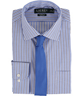 LAUREN Ralph Lauren - Striped Oxford Spread Collar Classic Button Down Shirt