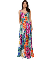 Mara Hoffman - Rayon Tie Front Maxi Dress