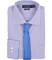 LAUREN Ralph Lauren - Check Spread Collar Slim Shirt