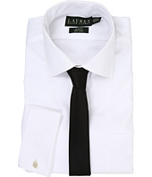 LAUREN Ralph Lauren - Pinpoint Spread Collar Slim Shirt w/ French Cuff
