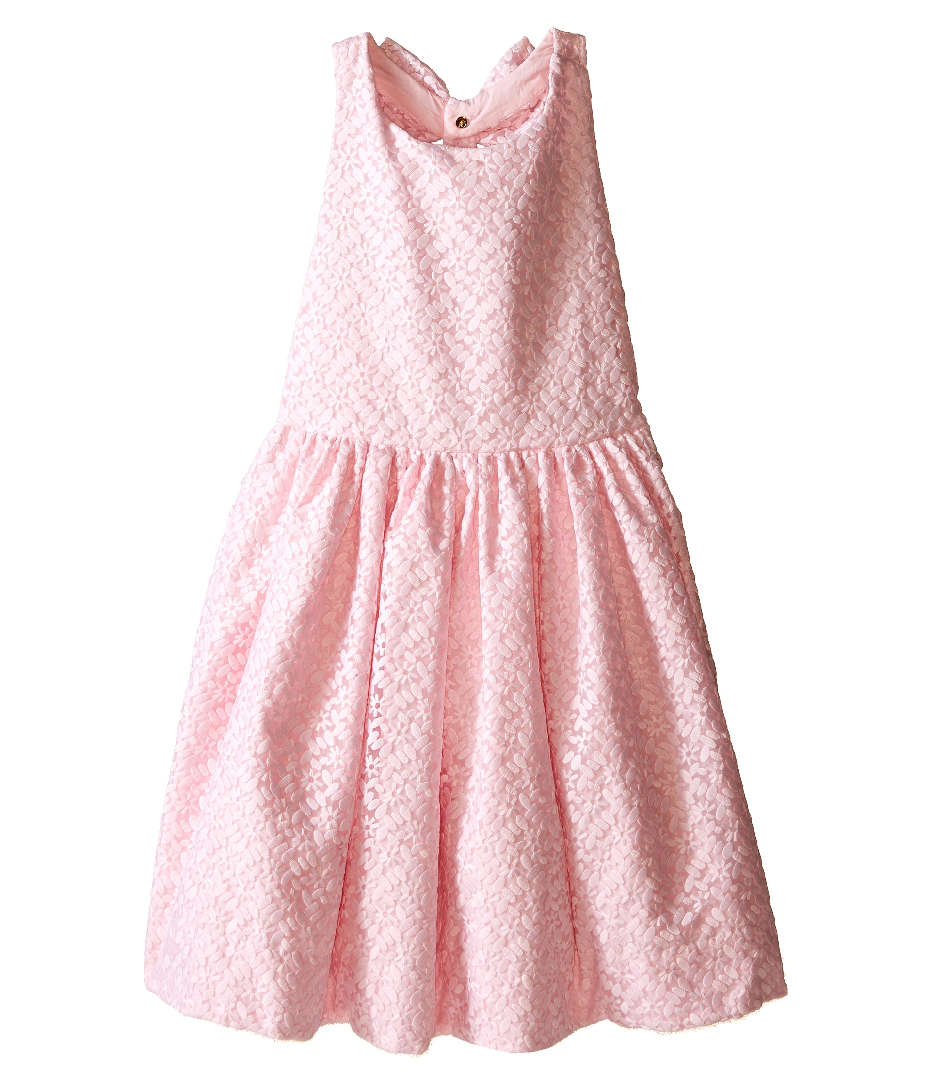 New York Jets Infant Girls Pleated Sundress - Pink