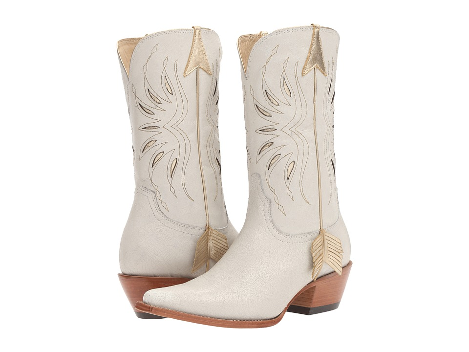 Lucchese Golden Arrow (White) Cowboy Boots
