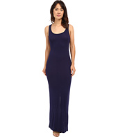 HEATHER - Scoop Neck Maxi Tank Dress