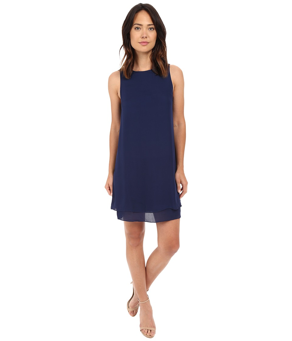 HEATHER Georgette Layered Dress Eclipse Womens Dress