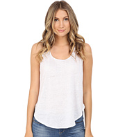 HEATHER - Linen Scoop Tank Top